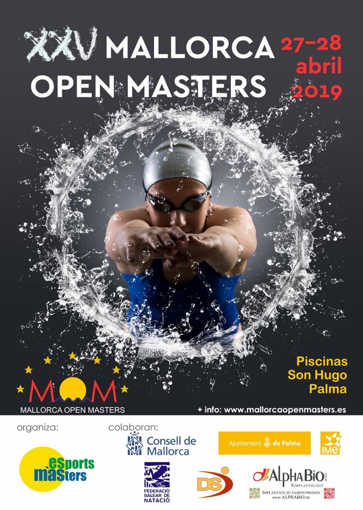XXV Mallorca Open Masters – MOM 2019 @ Piscinas Municipales Son Hugo | Palma | Illes Balears | España
